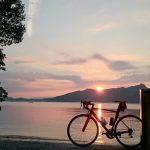 夕陽を見に小串岬へ